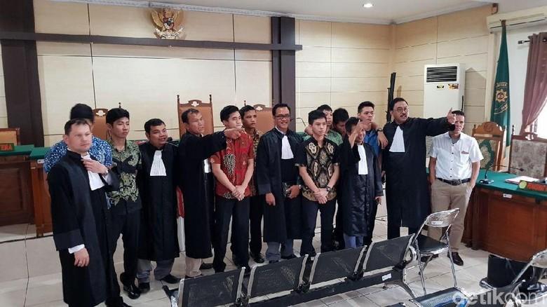 Kasus Penganiayaan Junior, 9 Taruna Akpol Divonis 6 Bulan Penjara