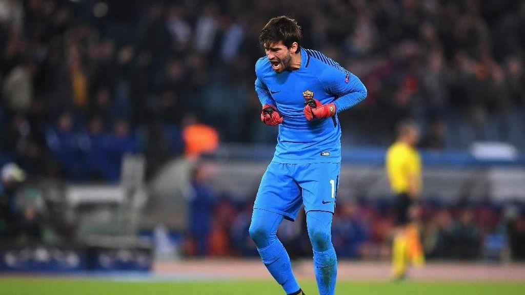 Roma Ingin Langsung Kalahkan Liverpool-nya Alisson