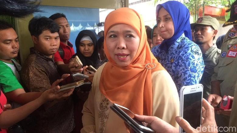 Ini Alasan Khofifah Belum Kirim Surat Pengunduran Diri ke Jokowi
