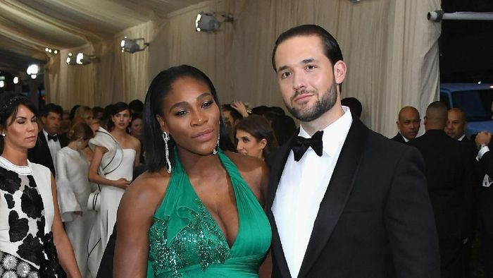 Serena Williams and Alexis Ohanian (Dia Dipasupil/Getty Images For Entertainment Weekly)