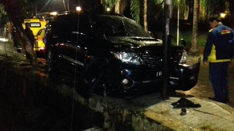 Polisi Analisis CCTV di Sekitar Lokasi Kecelakaan Setya Novanto