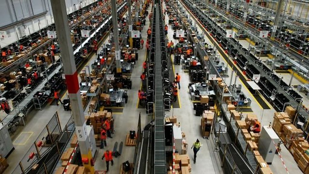 Belanja Online Meroket, Amazon Rekrut 100 Ribu Karyawan