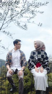 Prewed Romantis Hijab 61