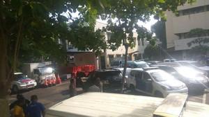 Mobil Setya Novanto yang Kecelakaan Masih di Pancoran