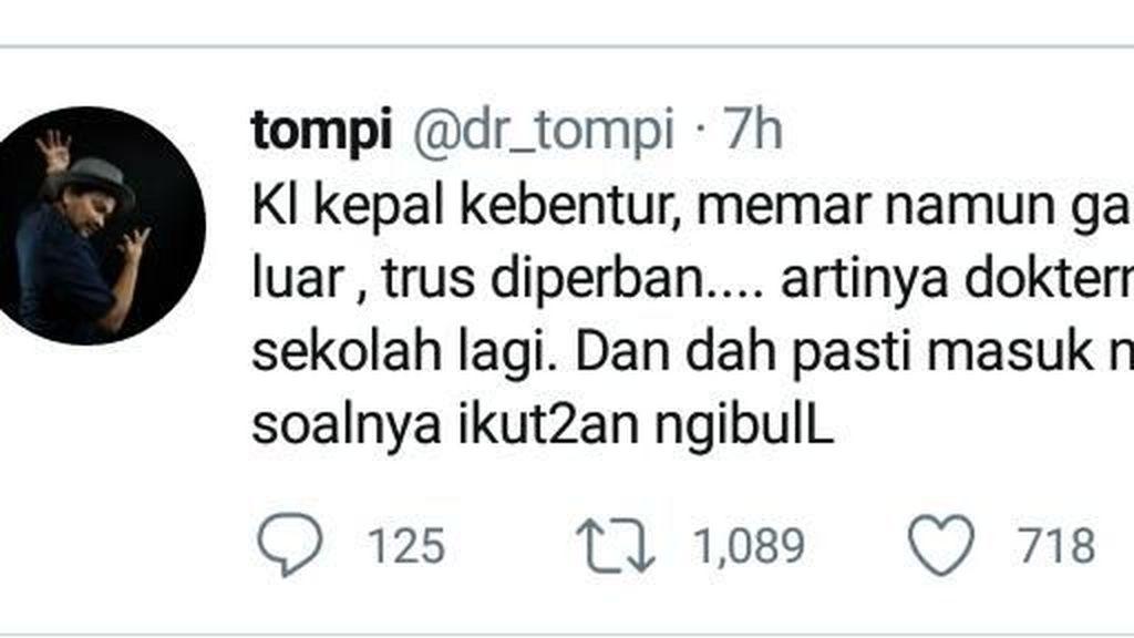 Setya Novanto Diperban, Komentar dr Tompi Ini Banjir Tanggapan