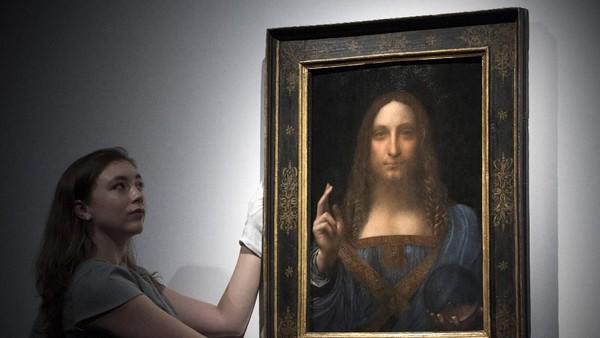 Lukisan Kristus da Vinci akan Bergabung dengan Mona Lisa di Louvre?