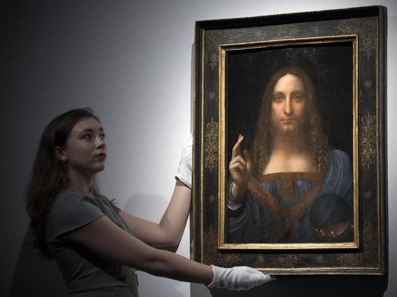 Ahli Seni Bersikeras Lukisan Termahal di Dunia Rp 6 T Asli