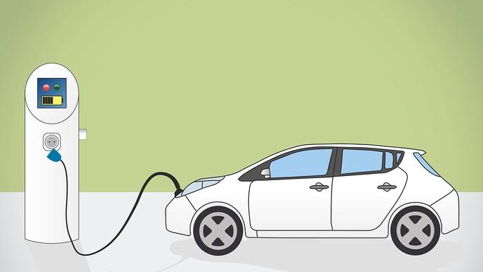 Ilustrasi mobil listrik (Pixaline/Pixabay)