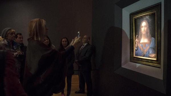 Cerita di Balik Konservasi Lukisan Termahal Leonardo da Vinci