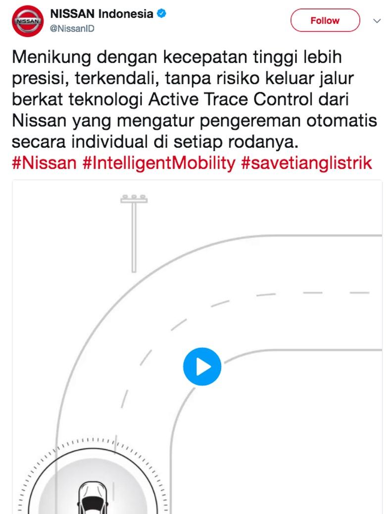 Nissan Motor Indonesia Foto: dok. Nissan (Twitter)