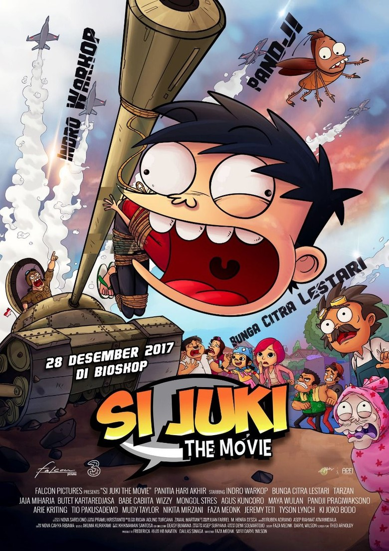 Si Juki The Movie: Panitia Hari Akhir Resmi Rilis Trailer