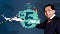 Karangan Bunga Satire untuk Setya Novanto, Patungan Pesawat Habibie
