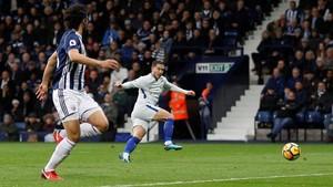 Hazard Dua Gol, Chelsea Benamkan West Brom 4-0