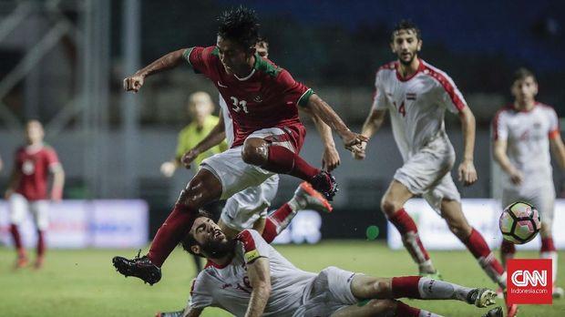 Febri Hariydi bakal menjadi salah satu pemain yang berbahaya bagi lini belakang Singapura.