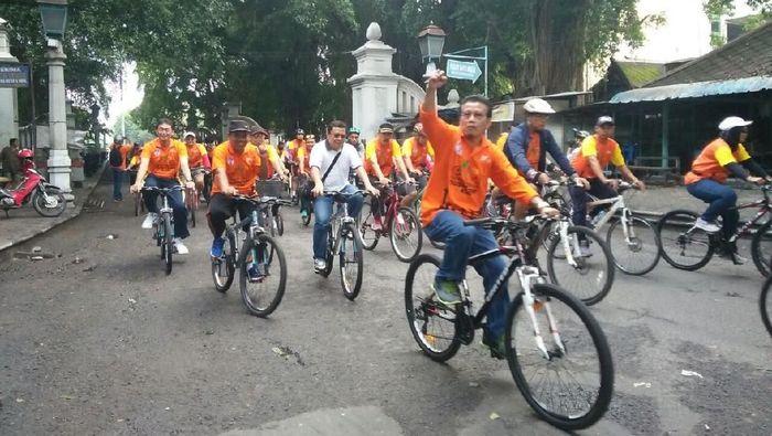 Gowes Pesona Nusantara 2017 di Solo (dok.Kemenpora)
