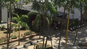 Suasana Lokasi Resepsi di Medan Jelang Kedatangan Kahiyang-Bobby