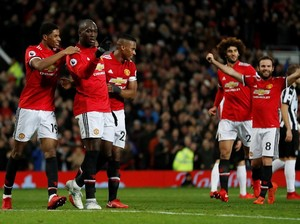 MU Gilas Newcastle 4-1