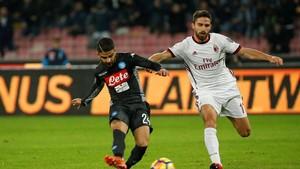 Napoli Masih Melaju dengan Tangguh, Atasi Milan 2-1