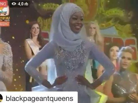 Jarang Terjadi, Hijabers Jadi Juara di Kontes Kecantikan Miss Global