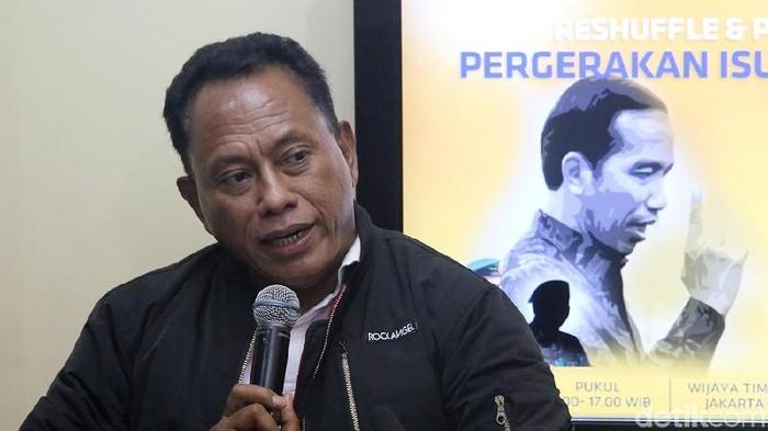 Foto: Ketua DPP PDIP bidang Kehormatan, Komarudin Watubun. (Foto: Ari Saputra/detikcom)