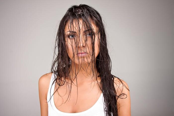 masalah rambut dan akibat tidur dalam keadaan rambut basah