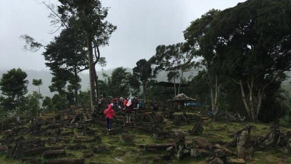 Seperti Kembali ke Masa Pra Sejarah di Gunung Padang