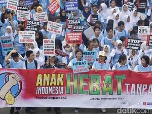 Anak Indonesia Hebat Tanpa Rokok
