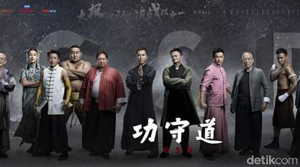 Penampakan Orang Terkaya China Main Film Kungfu