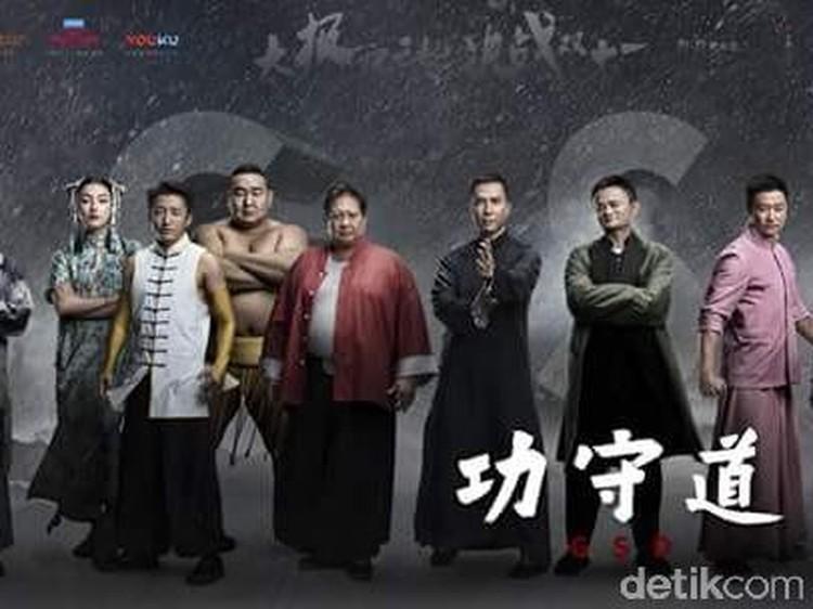 Orang terkaya di Tiongkok, Jack Ma, menjajal kemampuan aktingnya bersama dengan para bintang film di negeri tirai bambu.