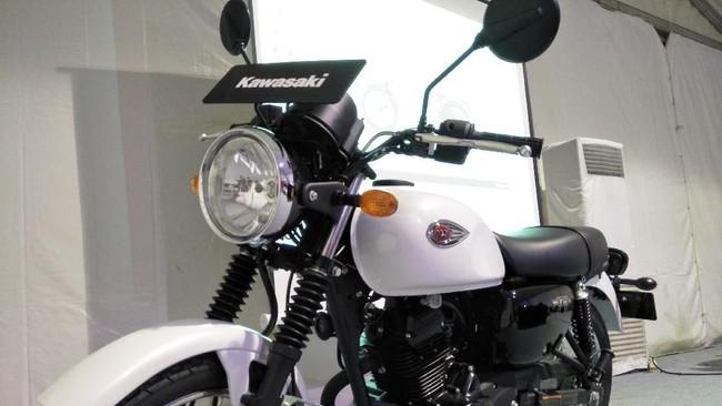 Kawasaki W175. Foto: Ruly Kurniawan