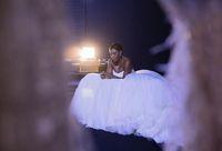Penampakan Serena Williams Bak Putri Raja di Hari Pernikahannya
