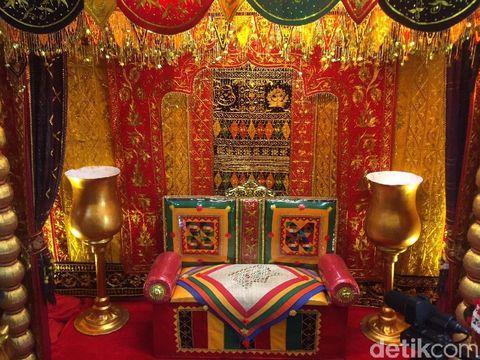 3 Dekorasi Mandailing Disiapkan untuk Pernikahan Kahiyang & Bobby di Medan