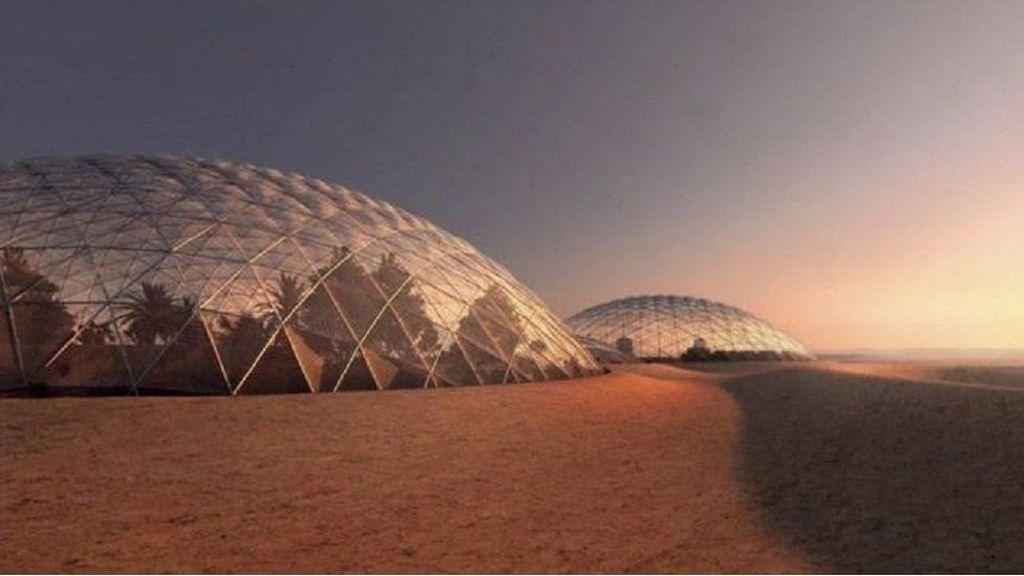 Wacana Manusia Mutan untuk Tinggali Mars
