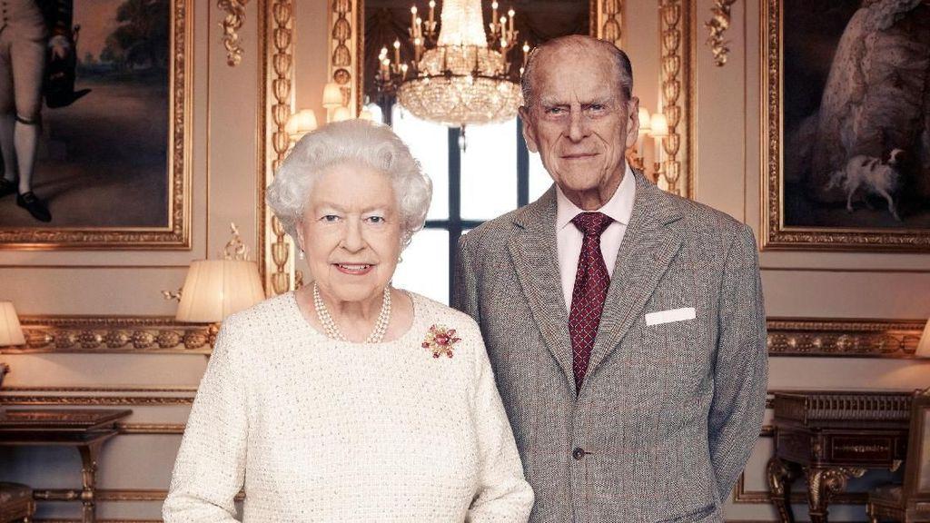 Pesan Cinta Ratu Elizabeth II untuk Suami dalam Video Natal