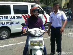 Dapat SIM Gratis, Kini Polisi Dapat Pekerjaan di Polres Pasuruan
