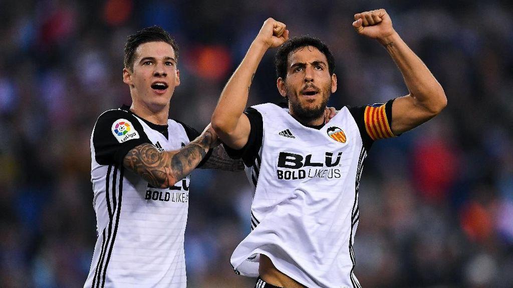 Kalahkan Espanyol, Valencia Terus Buntuti Barcelona