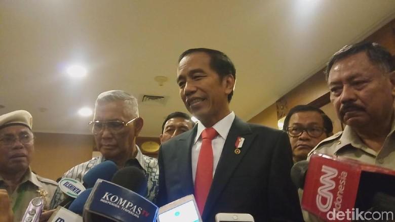 Soal Desakan Ganti Ketua DPR, Jokowi: Ikuti Mekanisme yang Ada