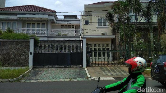 Rumah Novanto di Jl Kartika Utama PU 16 dan 17. Foto: Danang Sugianto/detikFinance