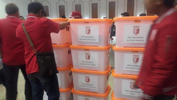 PKPI hingga PBB Daftar Ulang Pemilu 2019 ke KPU