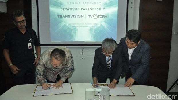 TransVision Gaet TVSTORM demi Geber Smart Home