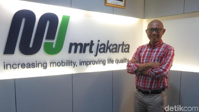 Direktur Utama MRT Jakarta William Sabandar