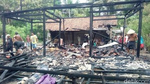 Satu Rumah Warga di Kebumen Ludes Dilalap Api