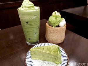 Amausaan Uji Matcha: Ngemil <i>Dessert</i> Serba Matcha di Kafe Bernuansa Jepang