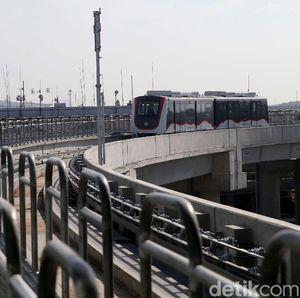 Kereta Ditambah, Waktu Tunggu Skytrain Soetta Cuma 3 Menit