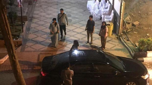 Usai Haroan Boru, Kahiyang-Bobby Kembali ke Hotel