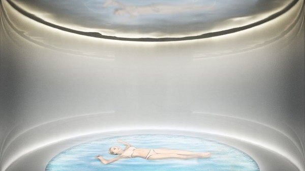 Sang arsitek memikirkan pentingnya menciptakan resor yang menawarkan lebih dari kamar hotel. Ada hal-hal yang menyenangkan, seperti kolam renang dan pemandangan yang indah (Johannes Torpe Studios/CNN Travel)