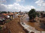 Normalisasi Ciliwung Sepanjang 1,5 Km Dilakukan Tahun 2020
