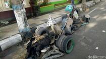 Kasus Kecelakaan Maut di Jaktim, Polisi: Vespa Modifikasi Dilarang