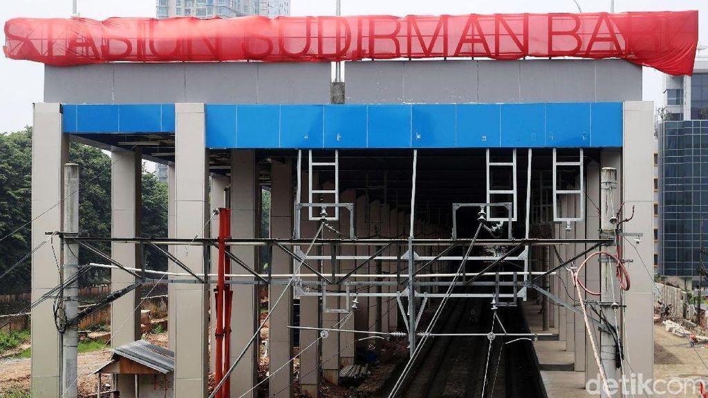Foto: Pembangunan Stasiun Sudirman Baru Sudah 94%