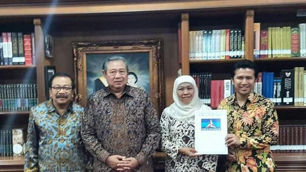 Dukung Khofifah-Emil, SBY akan Keliling Jawa Timur